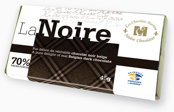 A pure delight of real Belgian dark chocolate