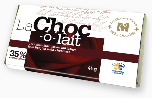 Real Belgian milk chocolate